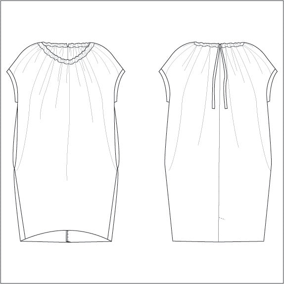 Claire Women's Dress Sewing Pattern