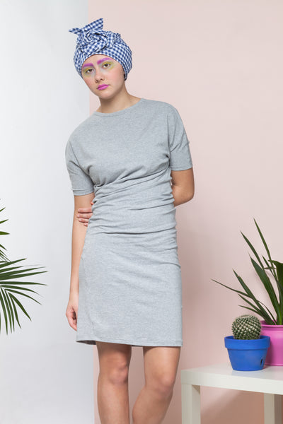 women's knit t-shirt dress sewing pattern