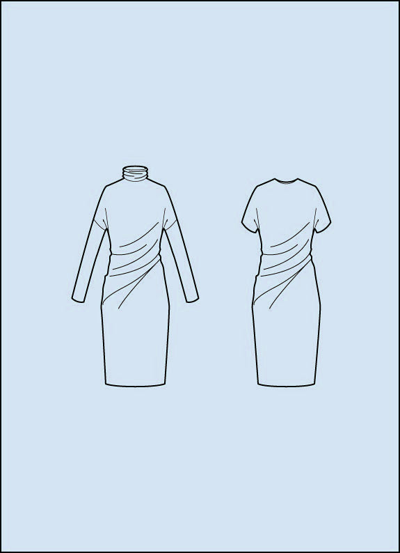 t shirt dress sewing pattern
