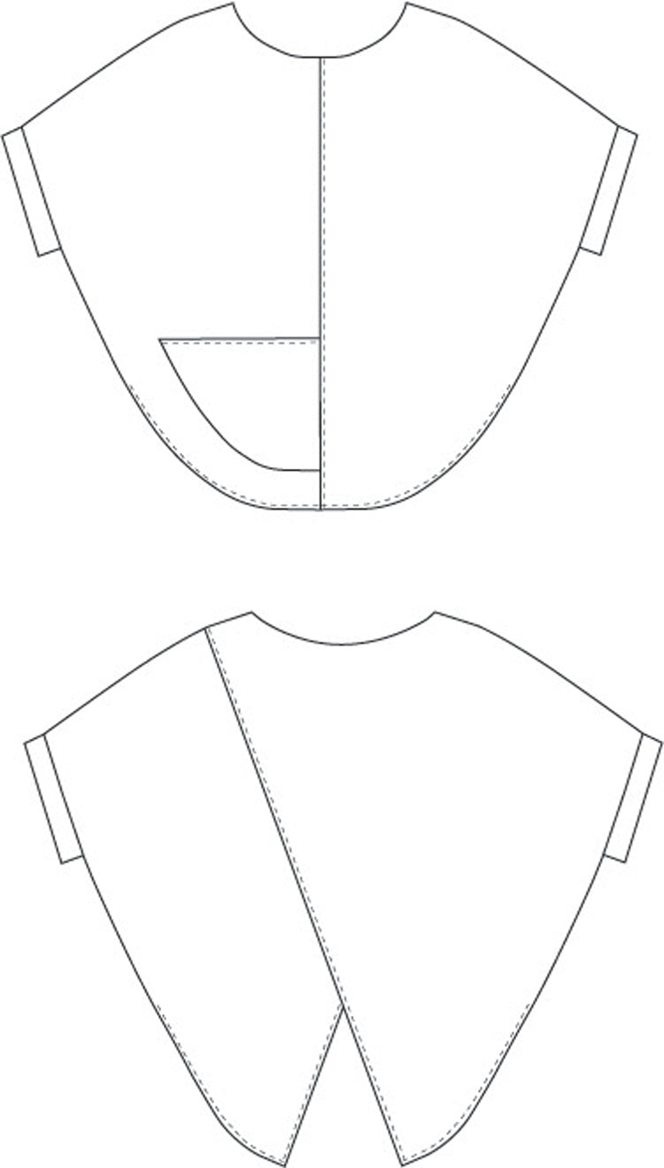 women's easy shirt sewing pattern