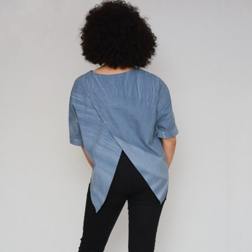 open vent back t-shirt pattern