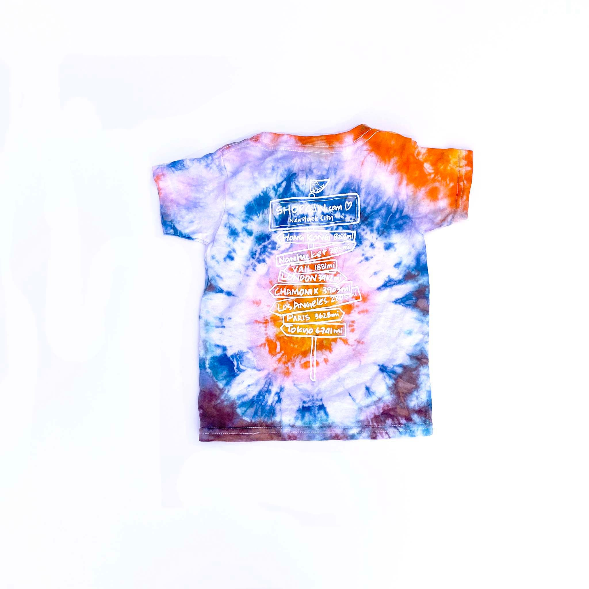 #friendsofCJW Tie-Dye tee (kids 2T-1)