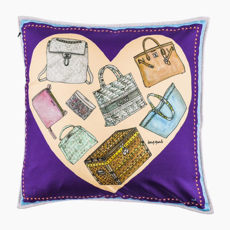 Bag Goals Cushion Mini