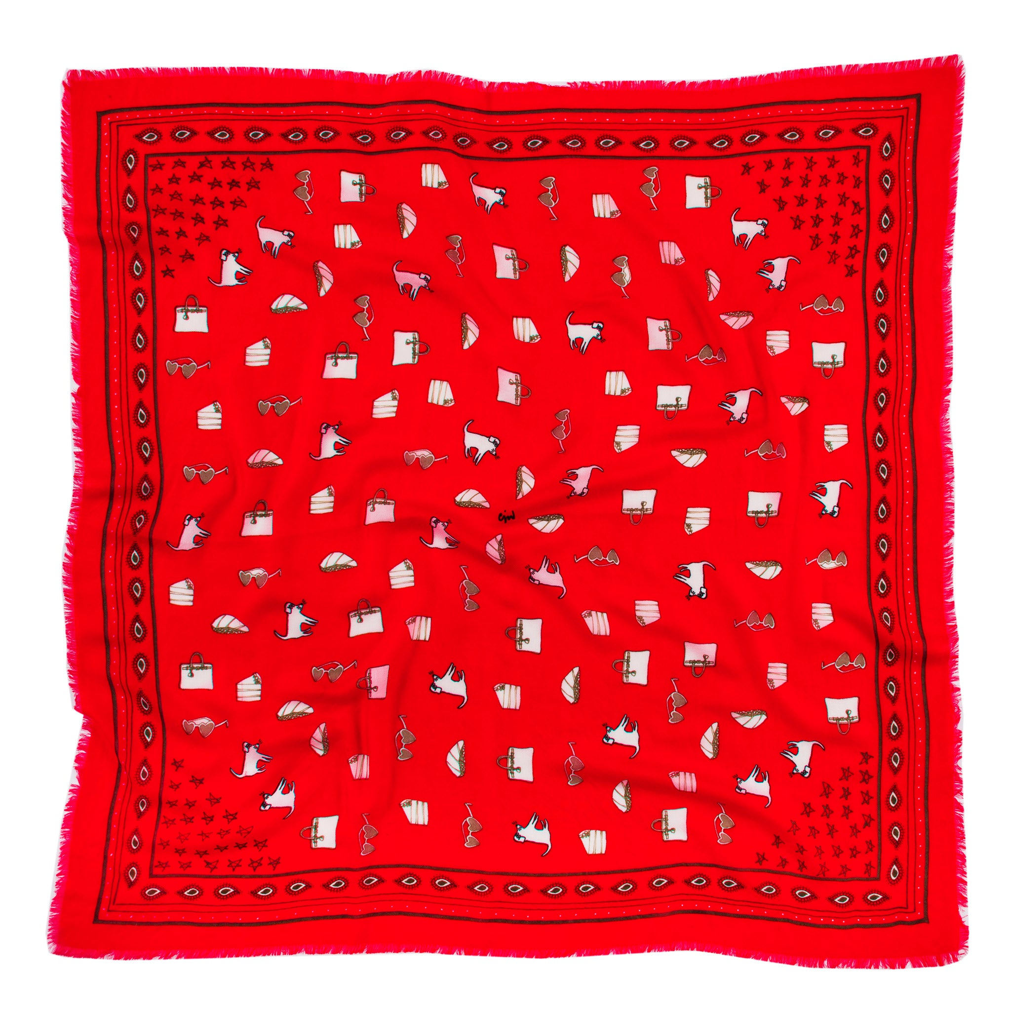CJW Bandana Red Mini