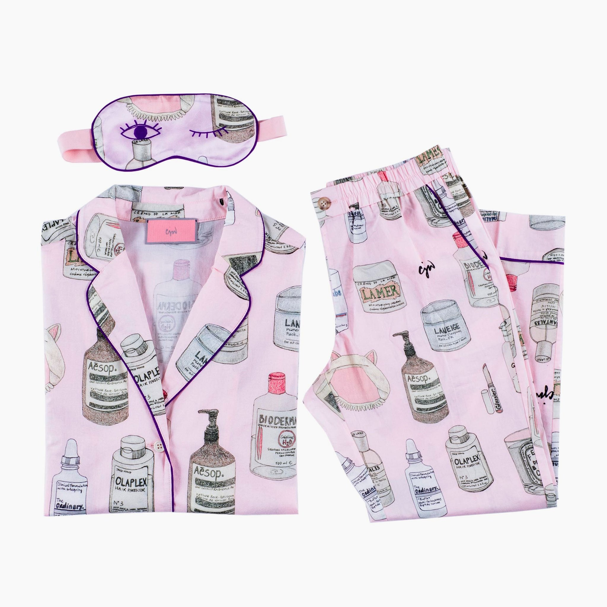 Beauty 2.0 Pajama Set with Eye Mask