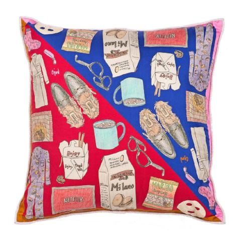 Netflix and Chill Two Sided Mini Cushion