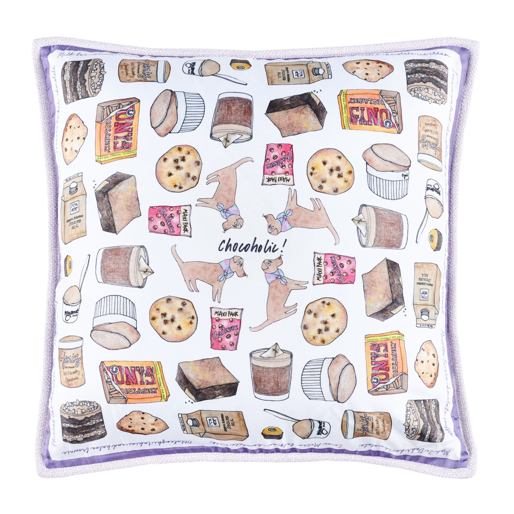 Chocoholic Cushion Mini