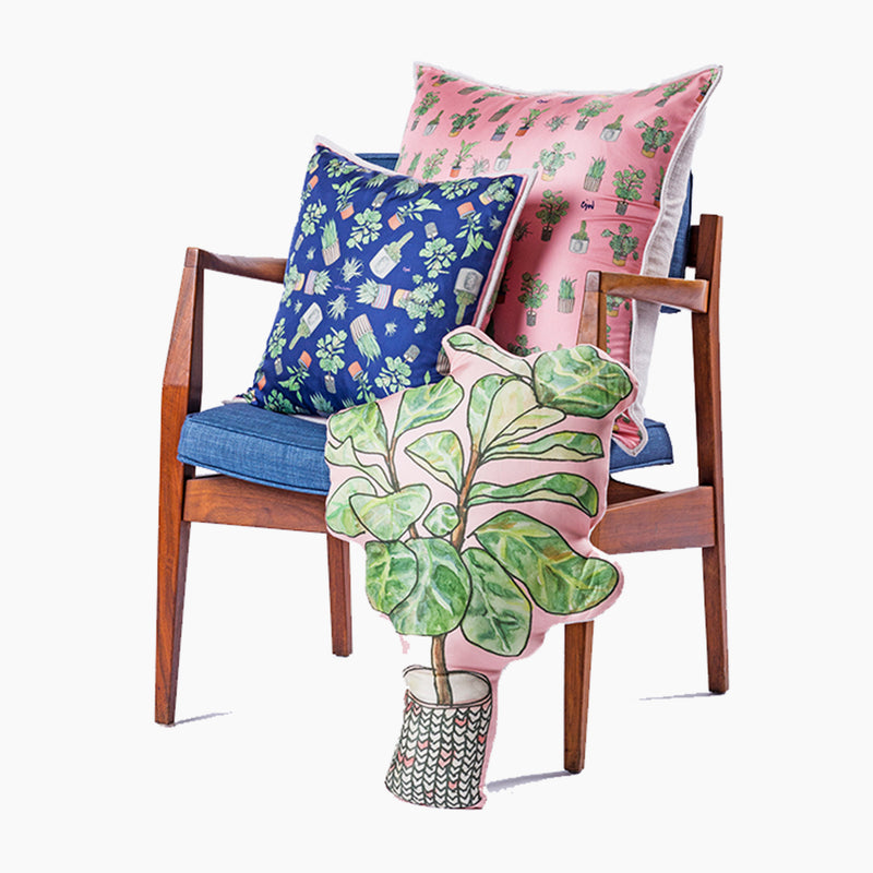 Fiddlehead Fern Fun Cushion