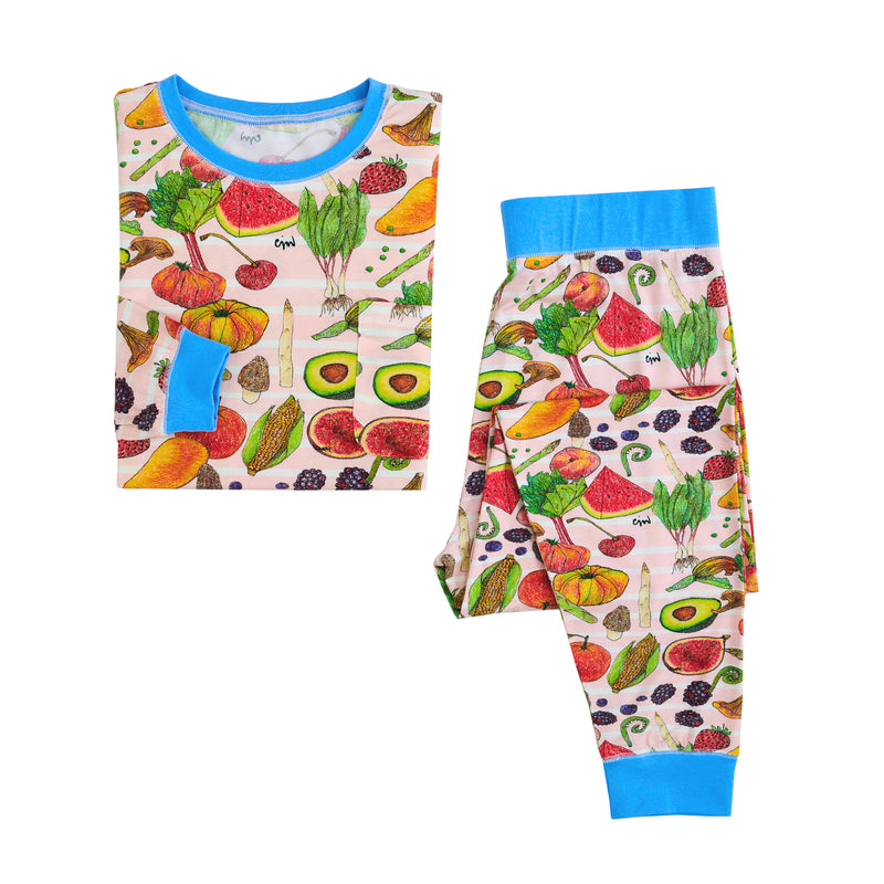 Fruit and Veggies Ladies Lounge Set