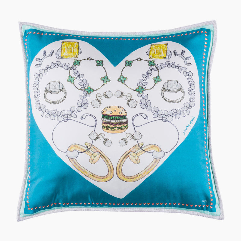 Jewelry Goals Cushion Mini