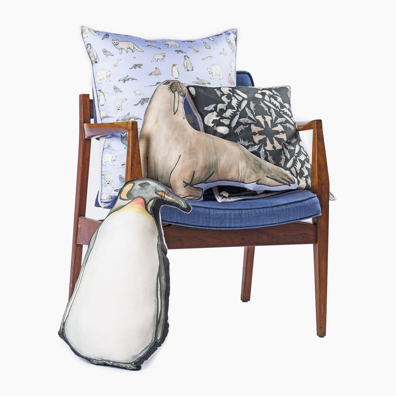 Penguin Fun Cushion