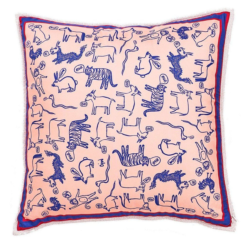 Chinese Zodiac Two Sided Mini Cushion