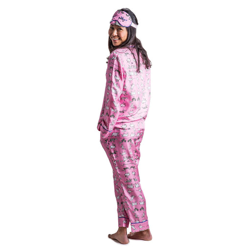 Zodiac Pajama Set with Eye Mask