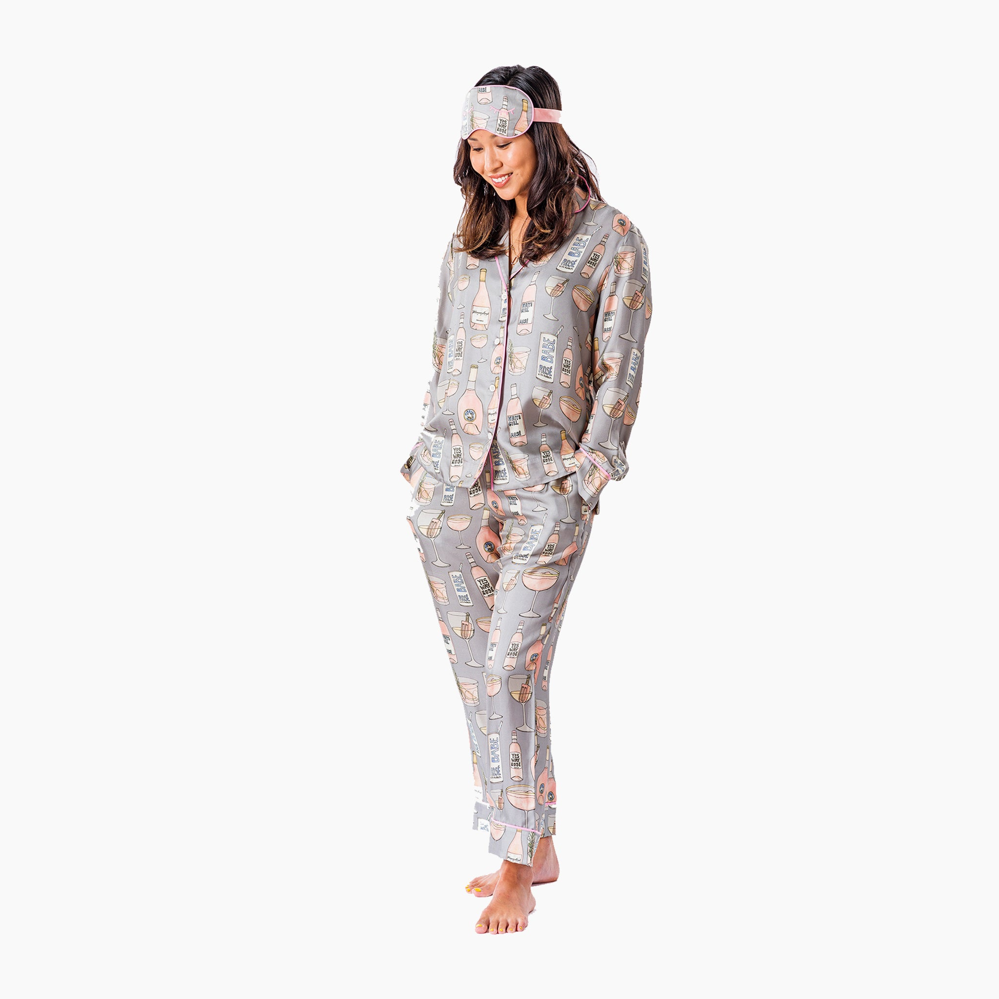 Ros̩ All Day Long Pajama Set (XL)
