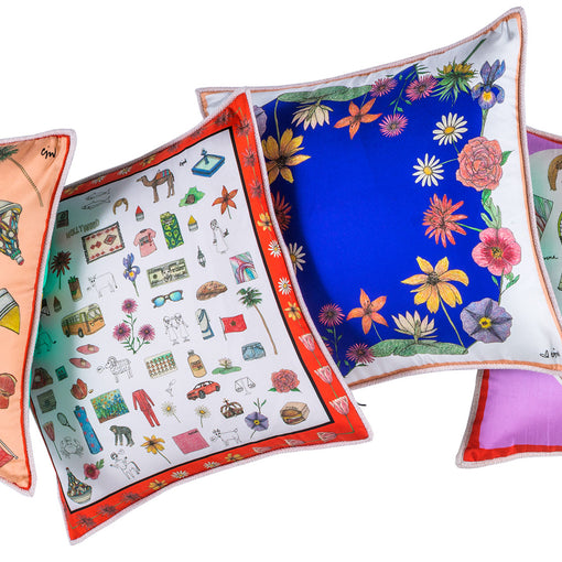 Giverny Two Sided Mini Cushion