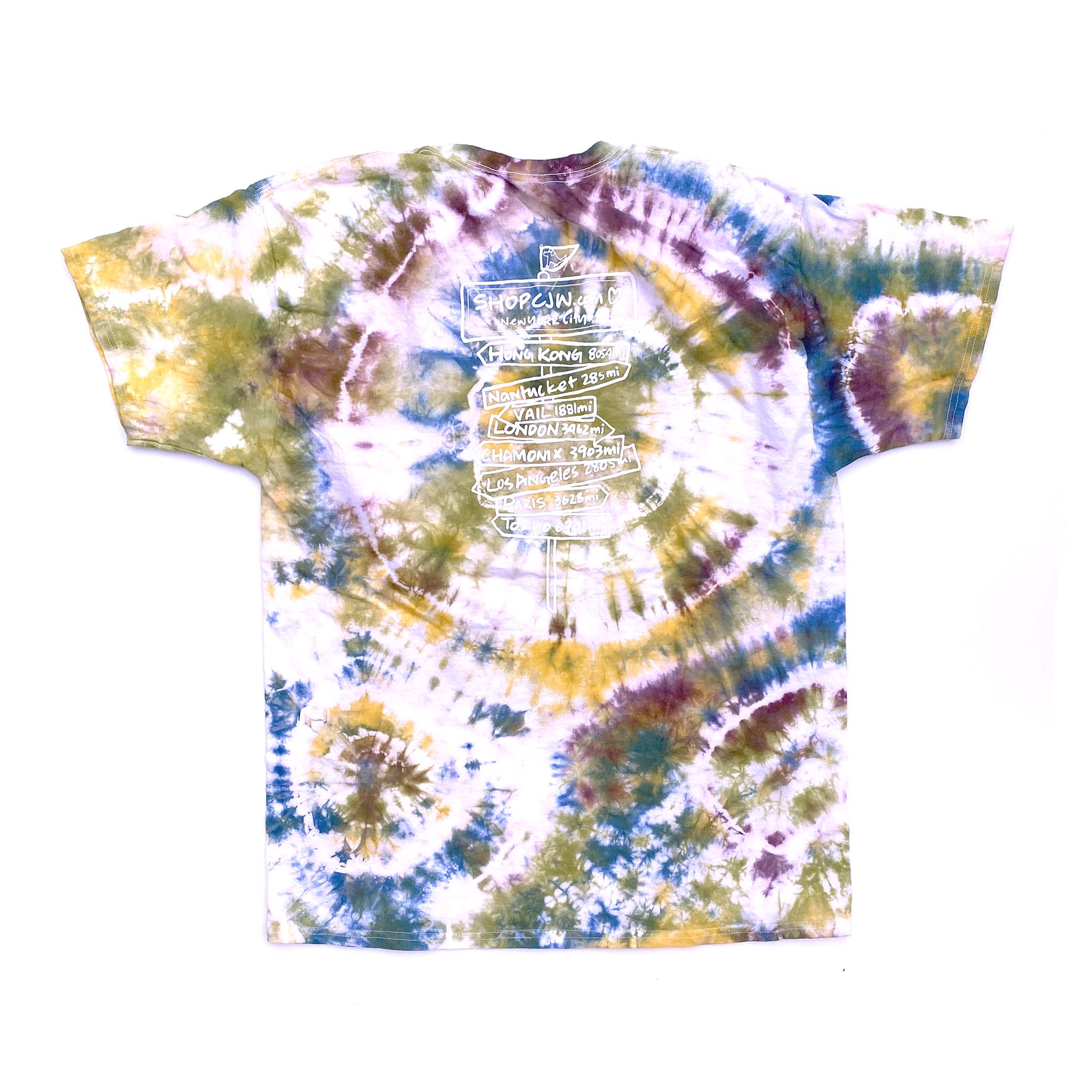 #friendsofCJW Tie-Dye tee (adult L-1)