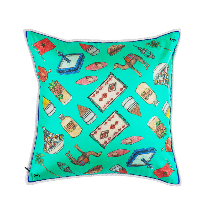 Marrakech Two Sided Mini Cushion
