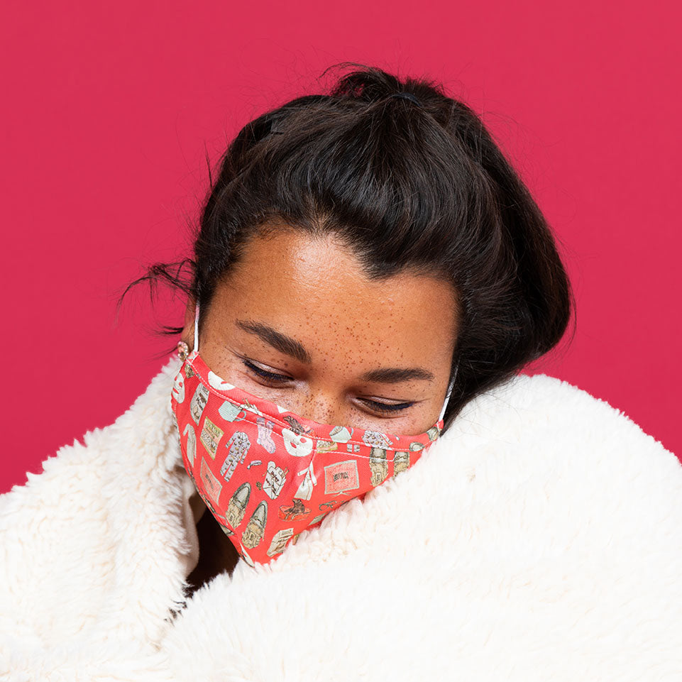 Netflix and Chill (Nantucket Red) Mask2.0