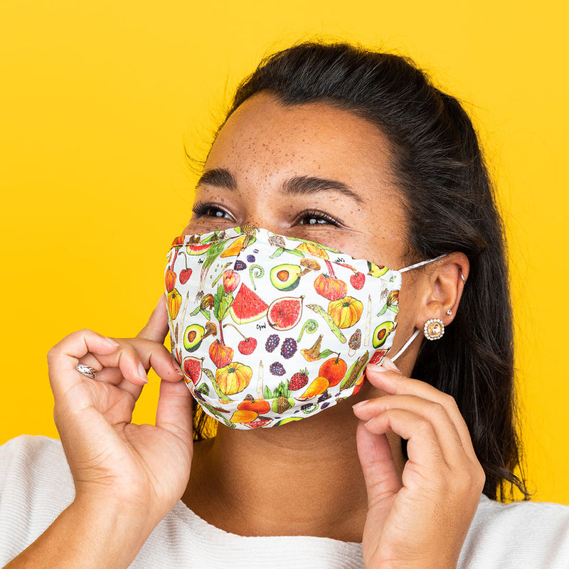 eat your veggies! (grey) mask2.0