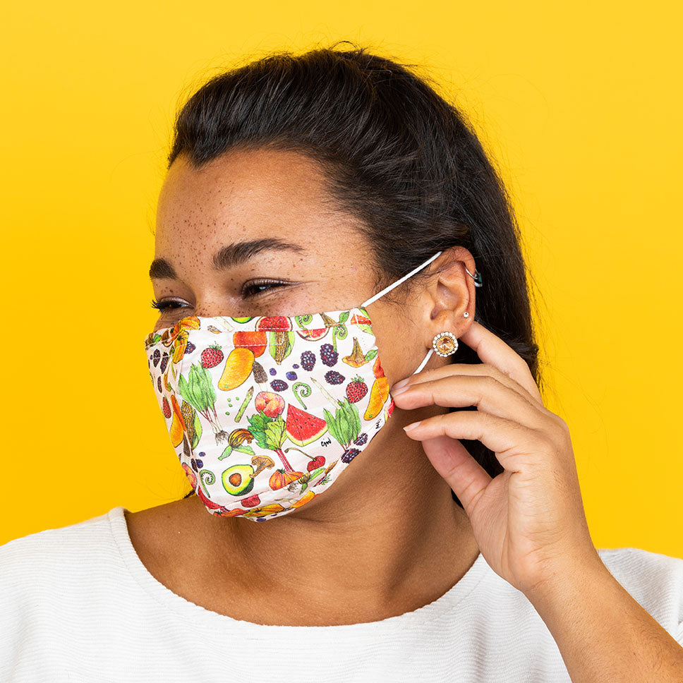 eat your veggies! (pink) mask2.0