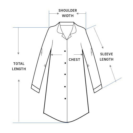 Pajamas Shirt Sizing