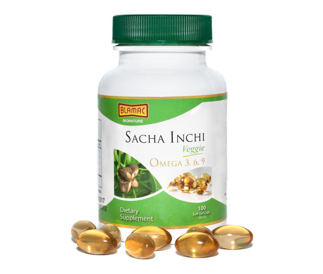 Sacha Inchi Vegan Soft Gel 500ml - Single