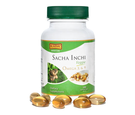 Sacha Inchi Vegan Soft Gel 500ml Family Pack