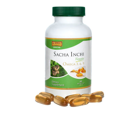 Sacha Inchi Vegan Soft Gel 1000ml Single