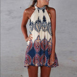 Women's Sleeveless Mini Dress