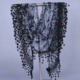 Floral Lace Shawl-Assorted Colors