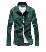 Men's Corduroy Long Sleeve Shirt