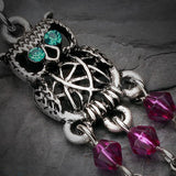 Colorful Stainless Steel Dream Catcher Belly Button Ring