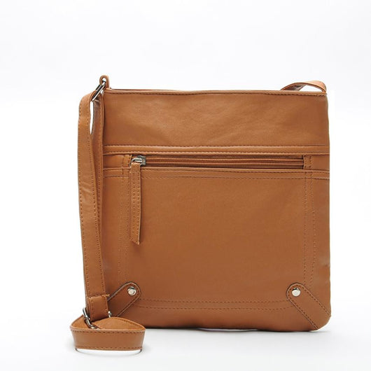 Sleek Leather Handbag
