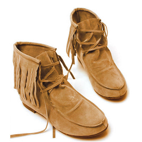 Women's Suede Leather Moccasin Style Boots