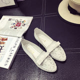 Woman Leather Casual Shoe