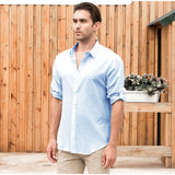 Men's Hawaiian Long Sleeve Shirt