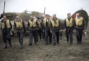 "303 Polish Fighter Squadron ""Kosciuszko"" - Heroes of the Battle of Britain."