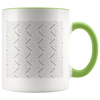 Personalized Accent Mug, You upload the design!