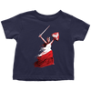 Polish Woman Warrior Toddler Shirt