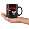 Cheektowaga Polish Black 11oz Mug - My Polish Heritage