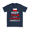 Let The Polish Girl Handle It Shirt - My Polish Heritage