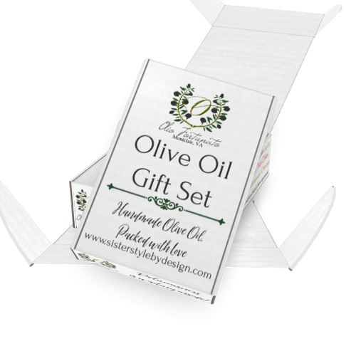 Holiday Olive Oil Gift Set