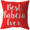 Best Babcia Ever Pillow - My Polish Heritage
