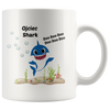 Matka and Ojciec Shark Coffee Mugs