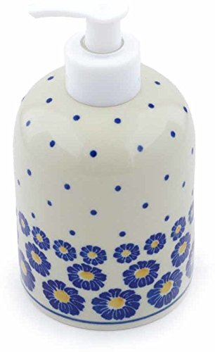 Polish Pottery Soap Dispenser