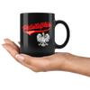 Philadelphia Polish Black 11oz Mug - My Polish Heritage