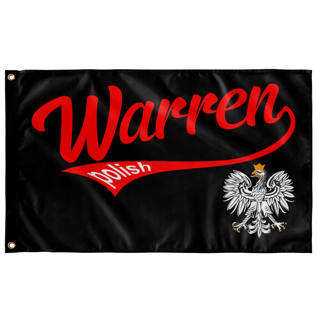 Warren Polish Flag