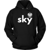 Sky with eagle shirts, tanks and hoodies