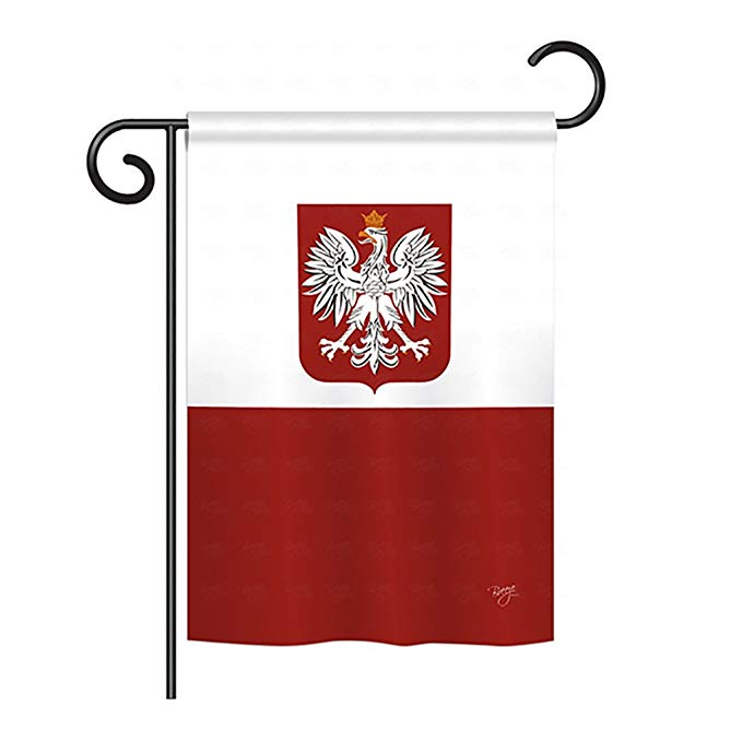 Poland Flag Decorative Vertical Garden Flag, 13