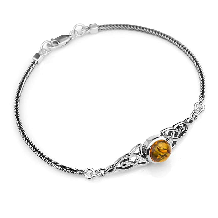 Amber Jewelry Celtic Bracelet